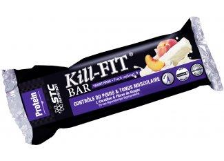 STC Nutrition Estuche de 5 barras energéticas Kill-Fit yogur melocotón