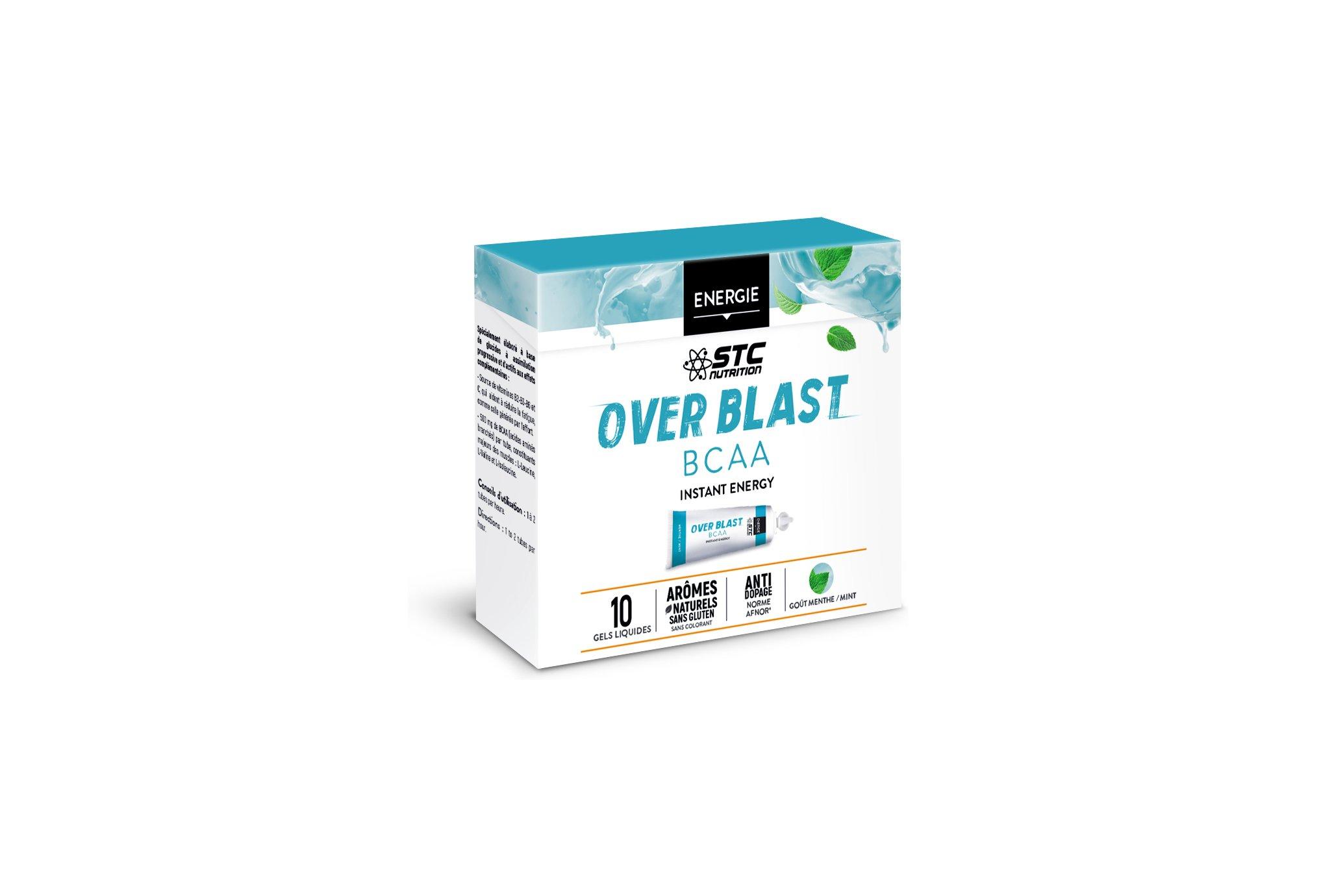 STC Nutrition Etui Over Blast BCAA - Menthe Fraîche Diététique Gels