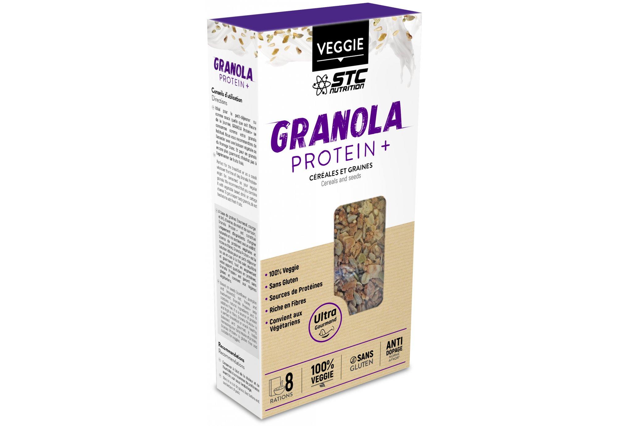 STC Nutrition Granola Protein + Diététique Protéines / récupération