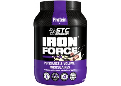 STC Nutrition Iron Force Protein 750 gr - vanille