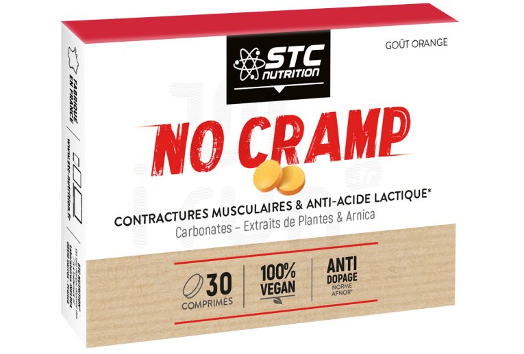 STC Nutrition No Cramp 30 Comprimés - 100% Vegan