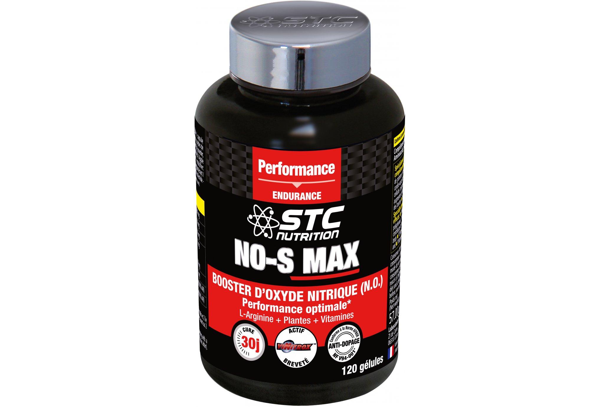 STC Nutrition NO-S MAX 120 cápsulas Diététique Compléments
