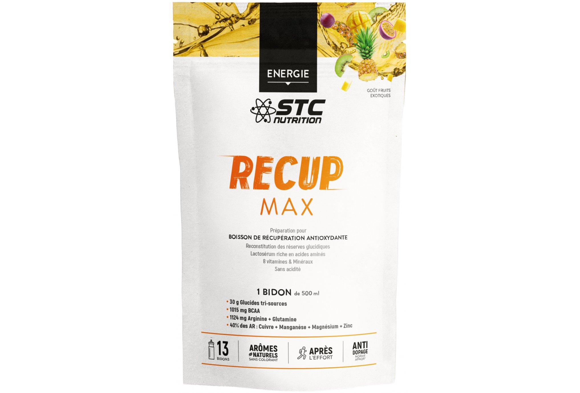 STC Nutrition Recup Max fruits exotiques 525g Diététique Protéines / récupération