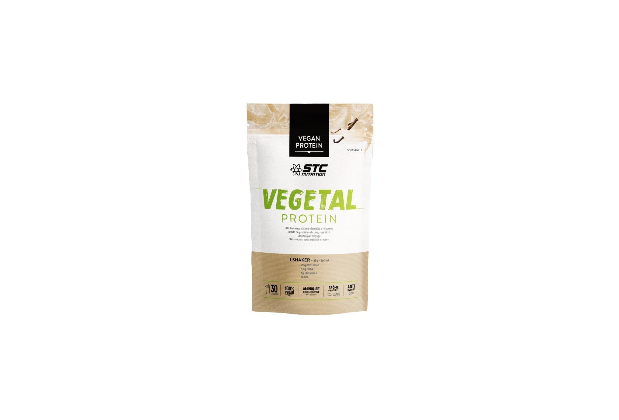 STC Nutrition Vegetal Protein 750 g - Vanille Diététique Protéines / récupération