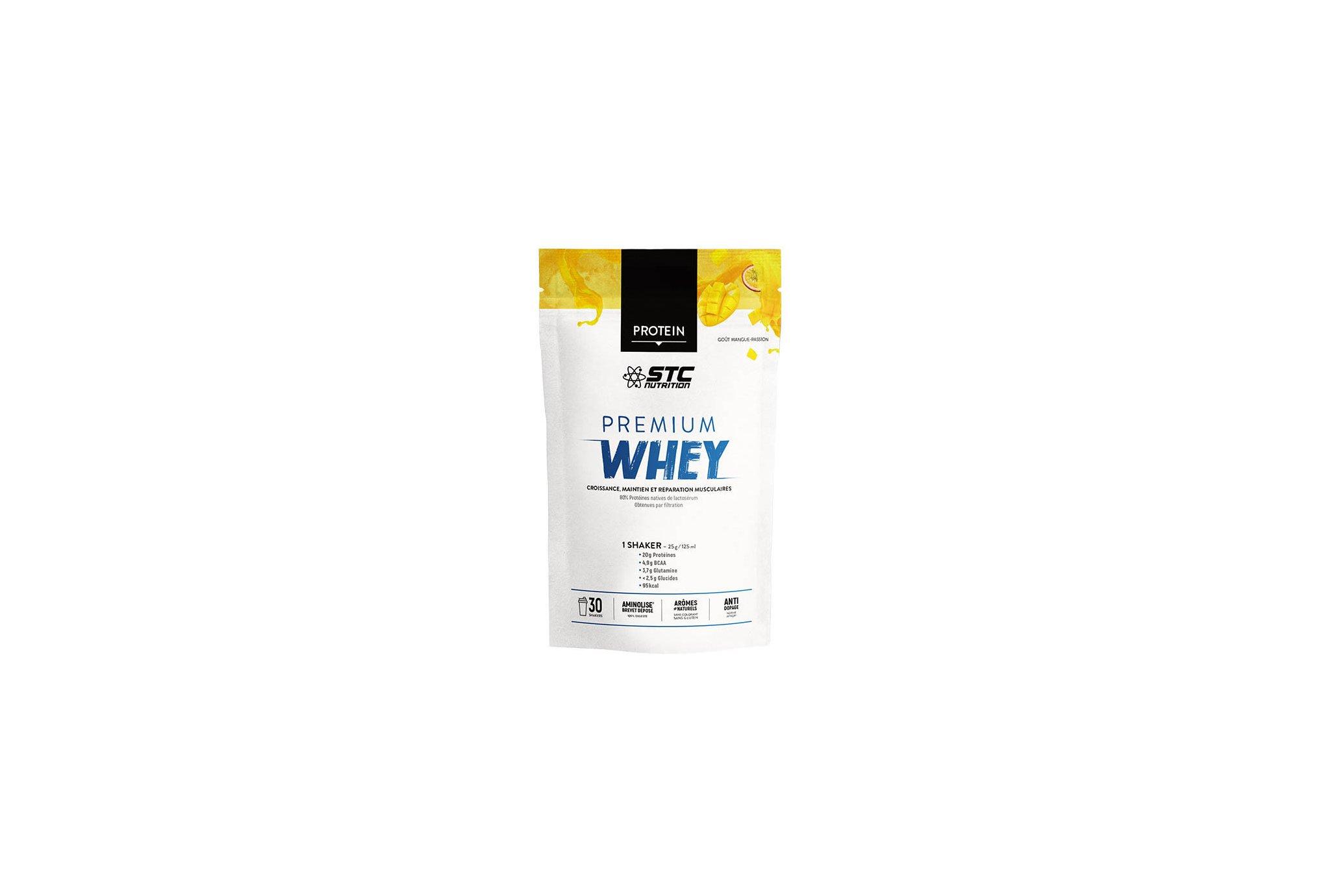 STC Nutrition Whey Pure Premium Protein mangue passion 750 g Diététique Protéines / récupération