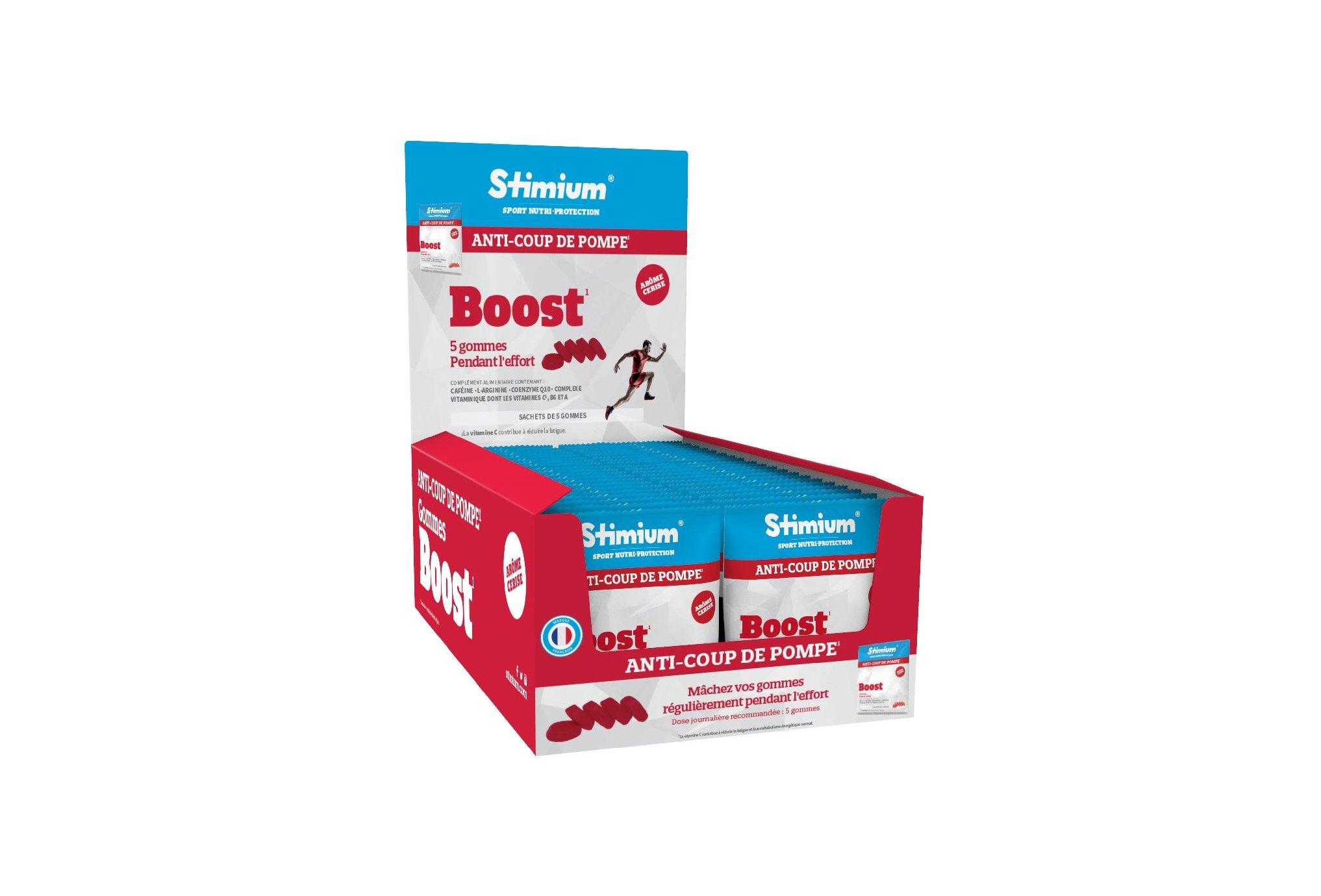 Stimium Pack 40 sachets Gommes Boost - Cerise Diététique Packs
