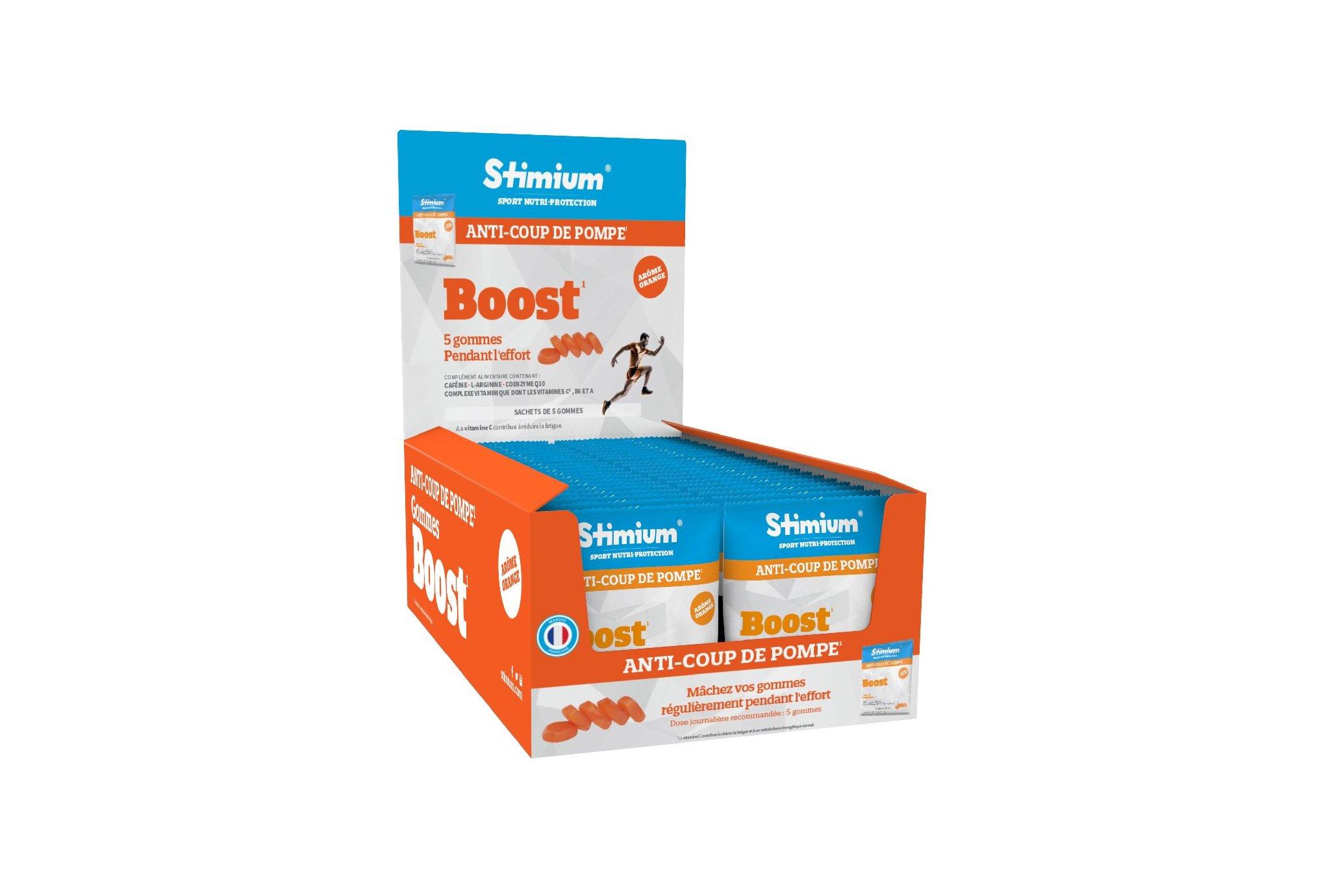 Stimium Pack 40 sachets Gommes Boost - Orange Diététique Packs