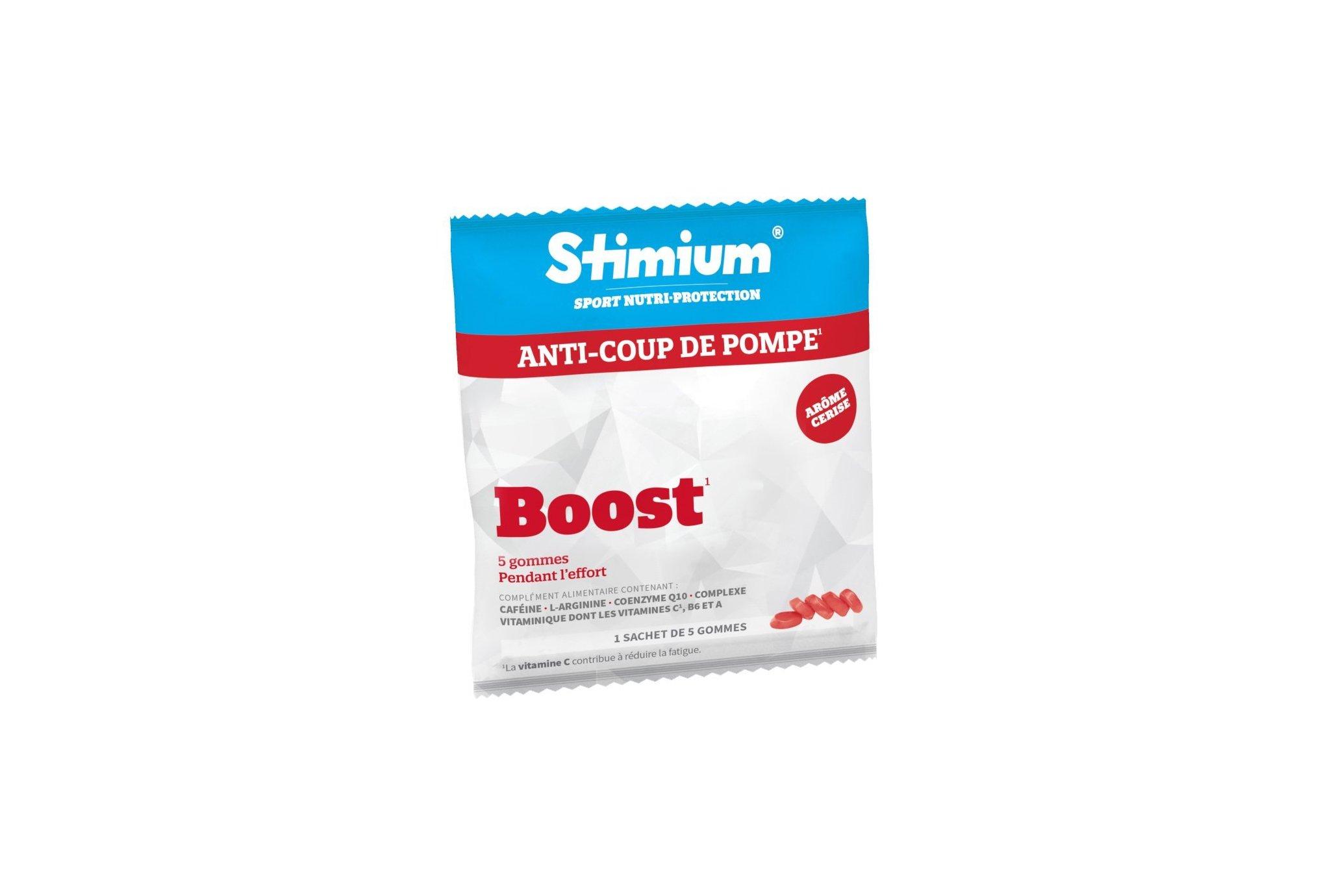 Stimium Sachet de 5 Gommes Boost - Cerise Diététique Compléments