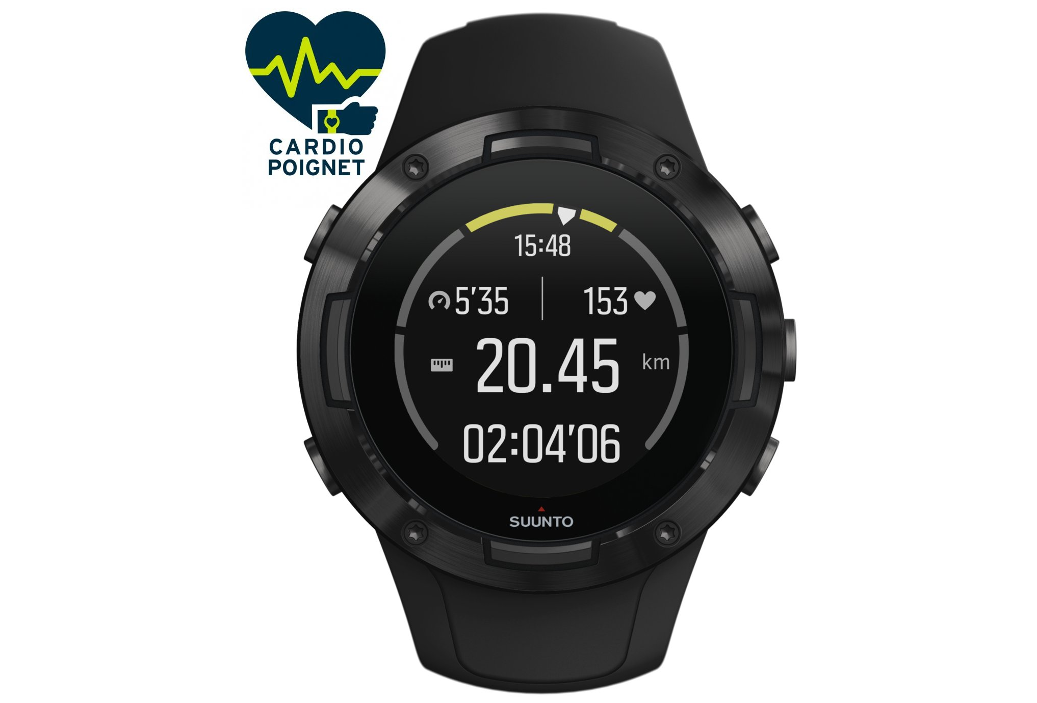 Suunto 5 All Black Cardio-Gps