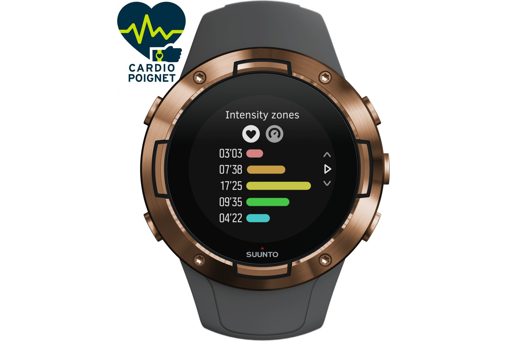 Suunto 5 Graphite Copper Cardio-Gps