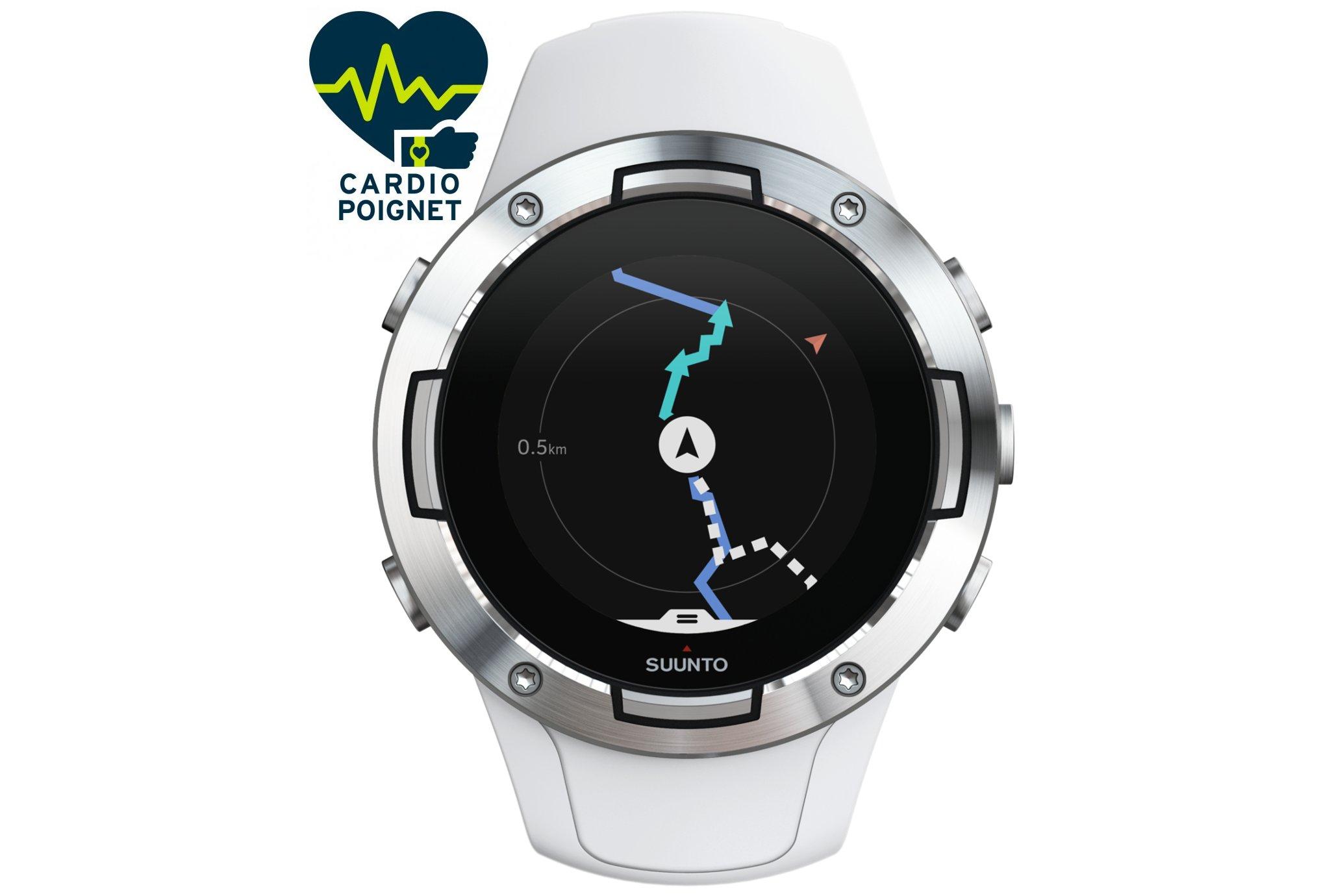 Suunto 5 White Cardio-Gps