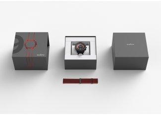 Suunto Pack de 9 Baro Red Special Edition + correa de cuero