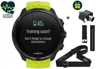 Suunto Pack 9 Lime Triatlón