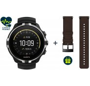 Suunto Pack Spartan Sport Wrist HR Baro Stealth + Bracelet Urban 2 Cuir Offert