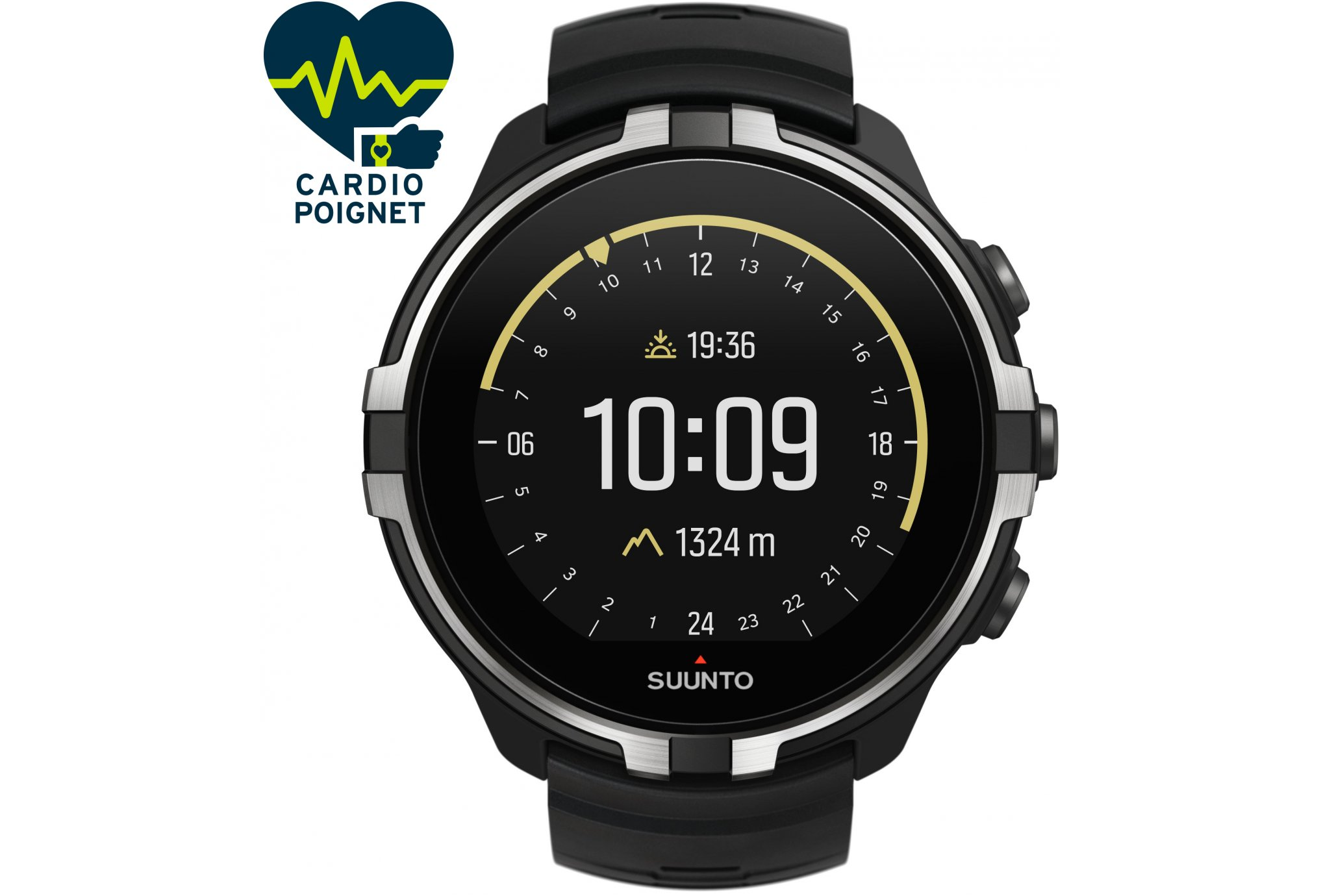 Suunto Spartan Sport Wrist HR Baro Stealth Cardio-Gps