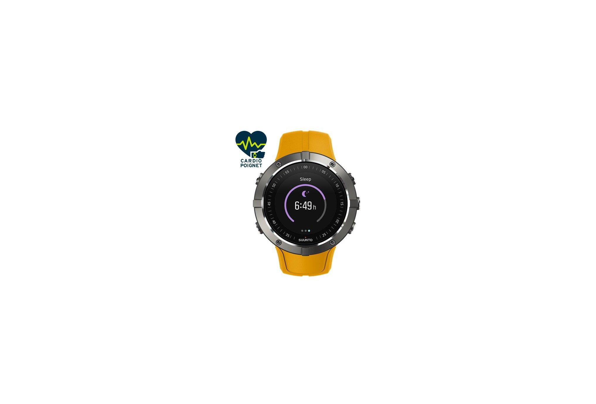 Suunto Reloj GPS Spartan Trainer Wrist HR Amber Cardio-Gps