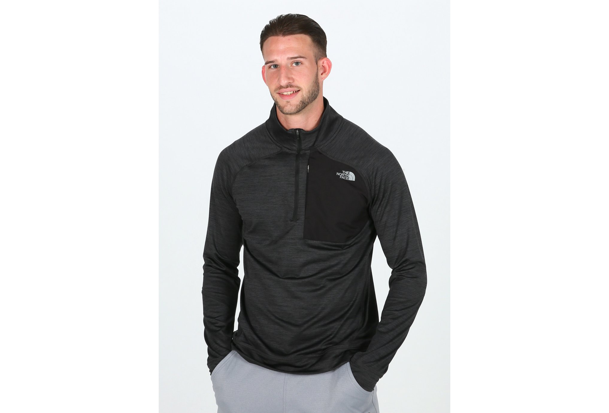 The North face ambition 1/4 zip m vêtement running homme