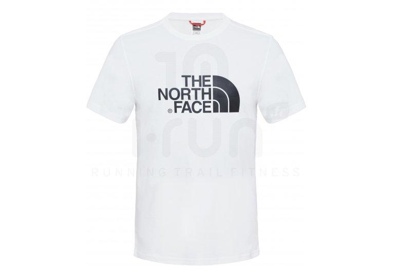 camisa manga corta hombre north face
