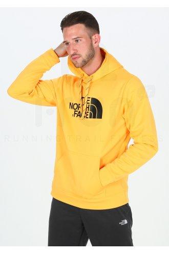 hoodie homme jaune