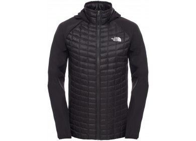 e949145f91e The North Face Veste Thermoball Hybrid Hoodie M homme Noir pas cher