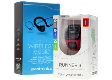 Tomtom Pack Runner 3 Cardio-Music + Casque