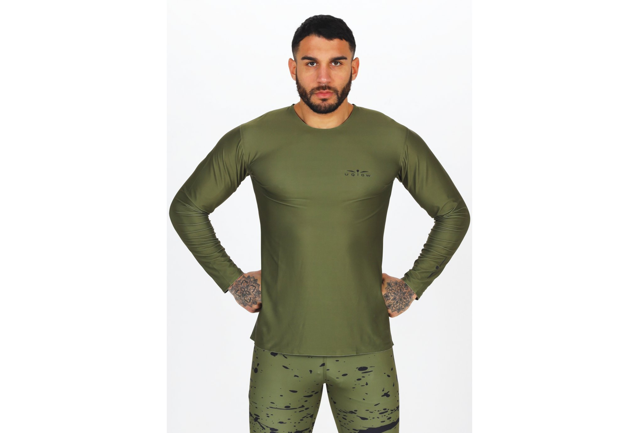 Uglow Long Sleeves M vêtement running homme