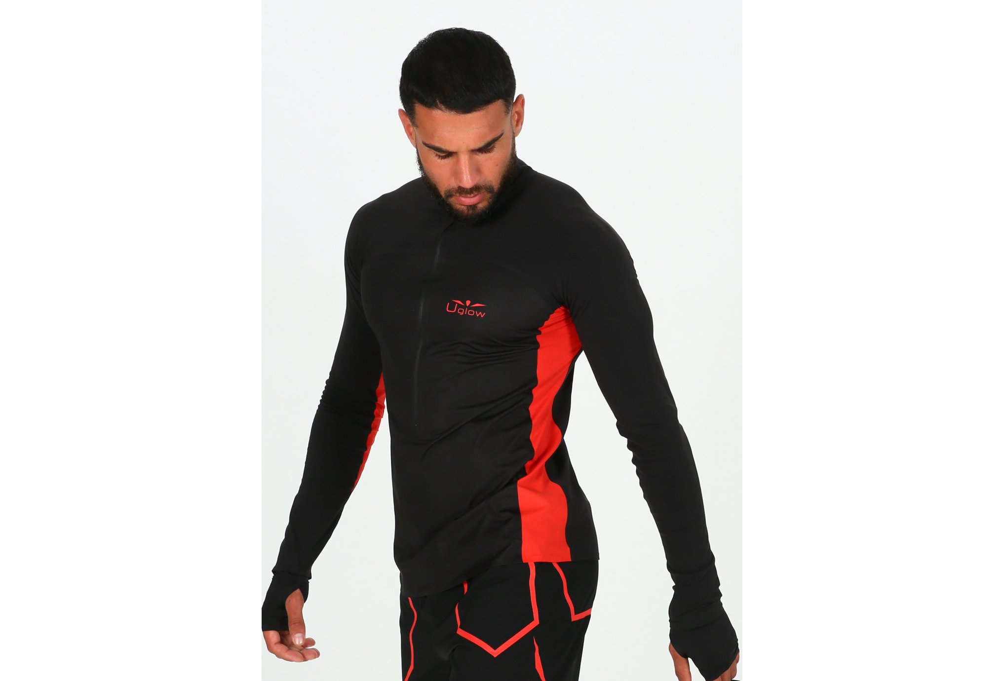 Uglow Membrane 3/4 Zip M vêtement running homme