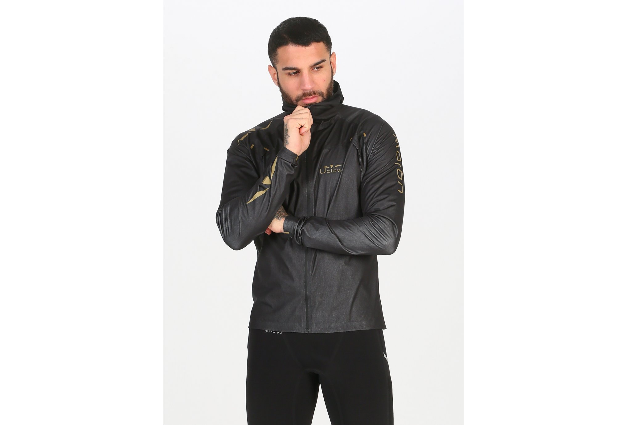 Uglow Rain Jacket X M vêtement running homme