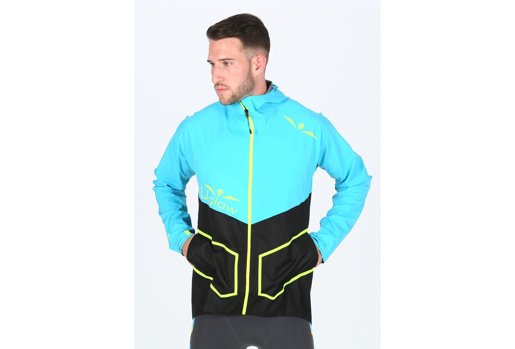 Uglow U-Rain Hybrid Max M vêtement running homme