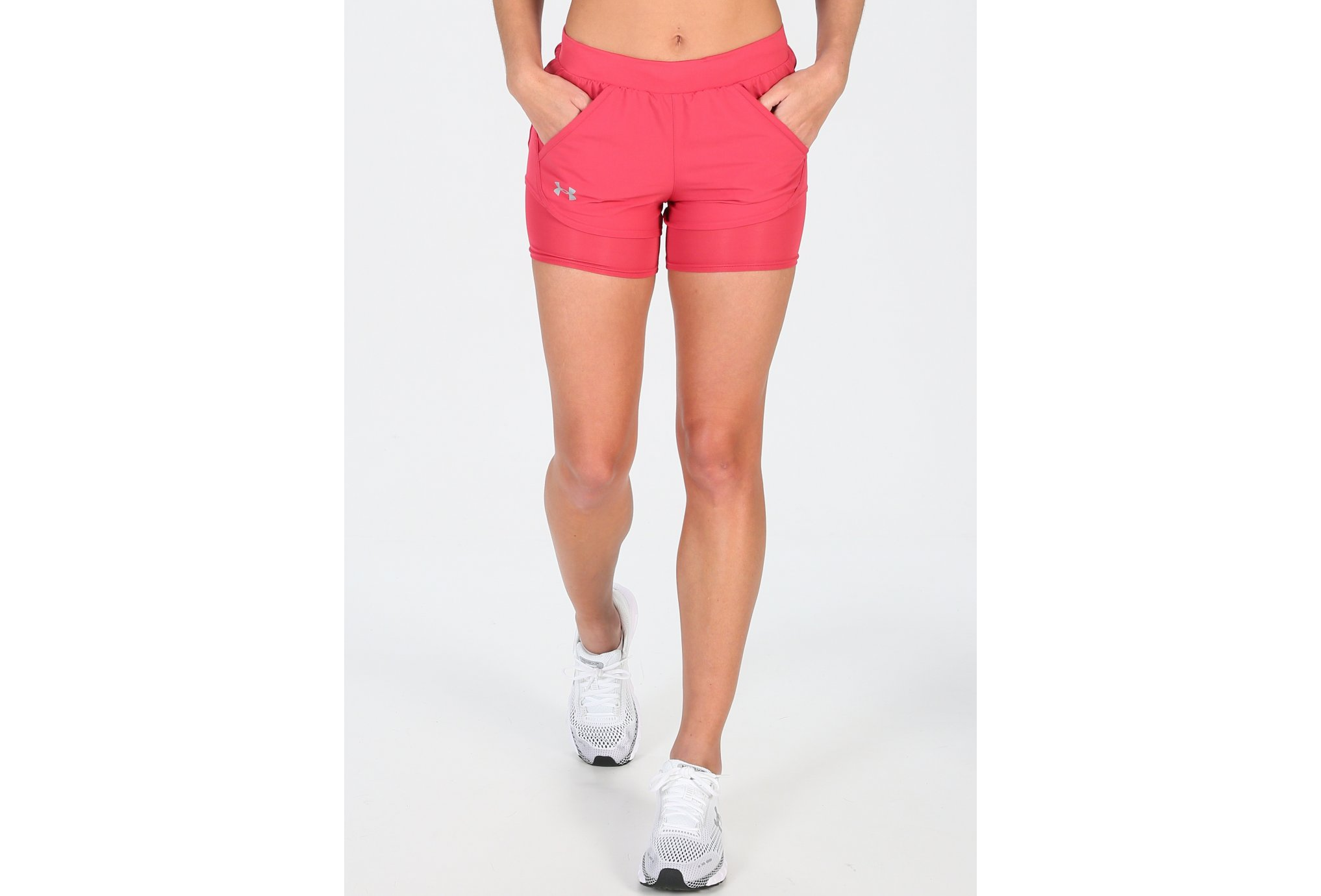 Under Armour Fly By Mini 2in1 W Diététique Vêtements femme