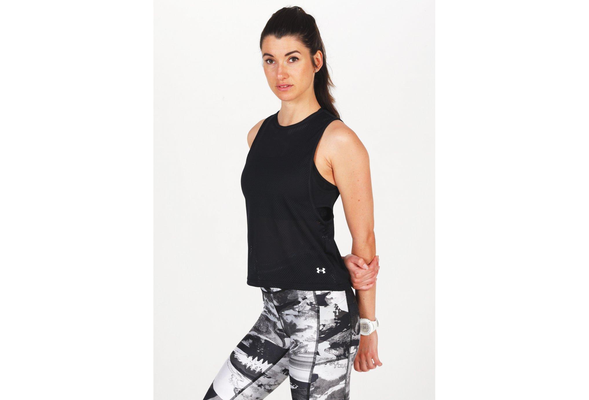 Under Armour HeatGear Armour Muscle Mesh W vêtement running femme