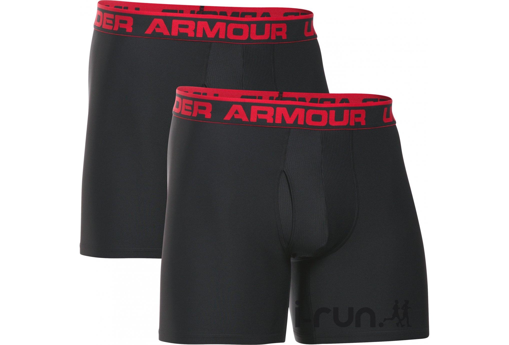 Under Armour Lot 2 Boxers Original Series 6 Boxerjock M vêtement running homme
