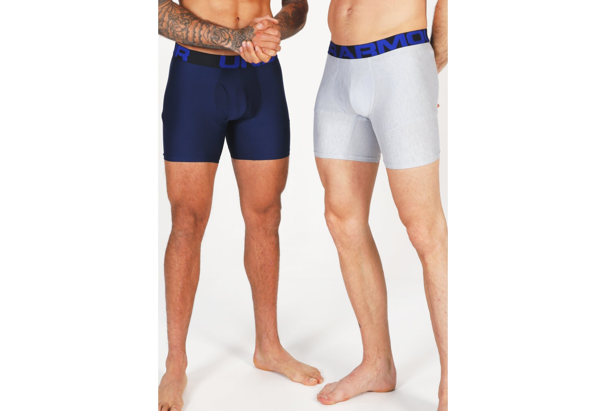 Under Armour Lot 2 Boxers Tech Boxerjock M vêtement running homme