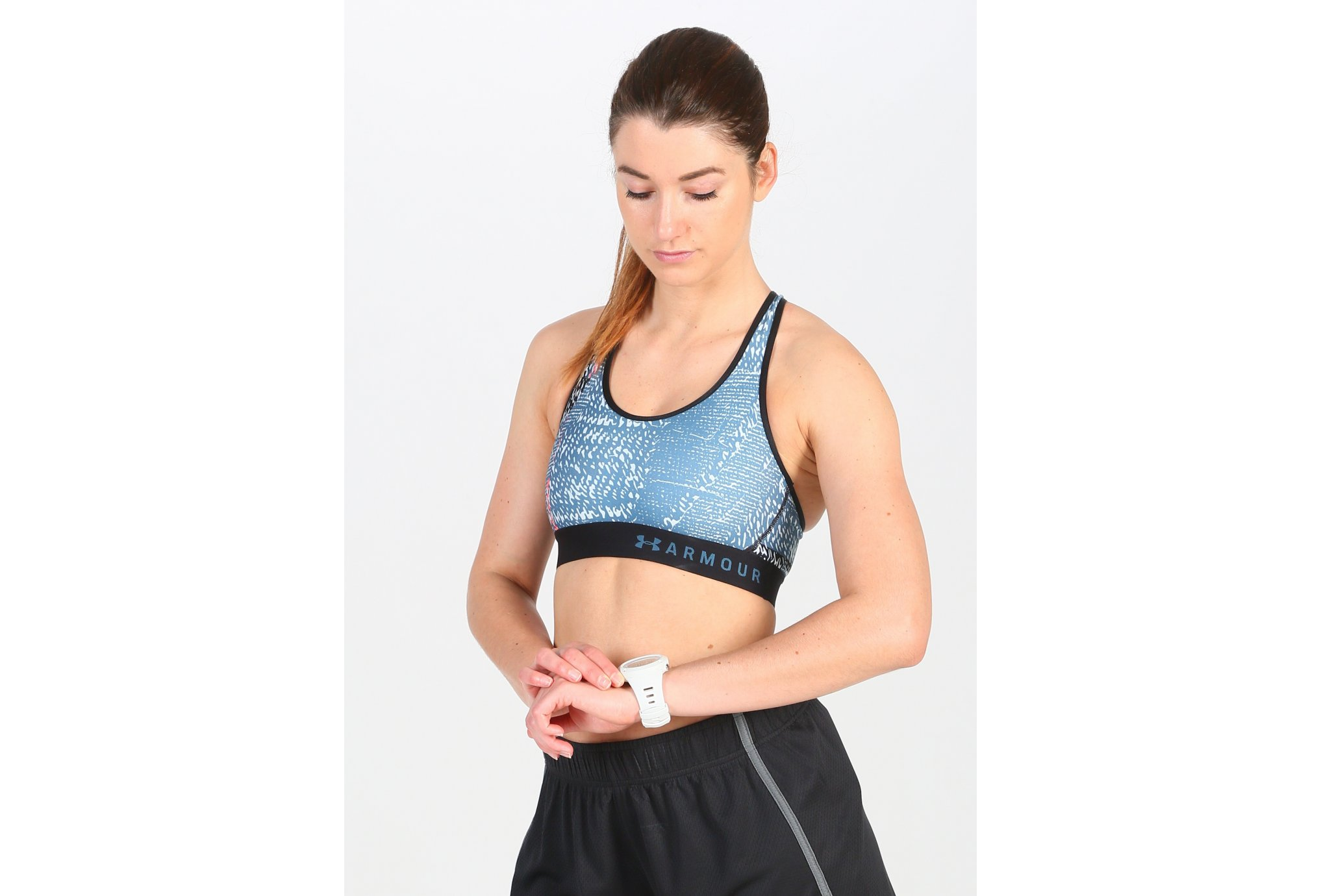 Under Armour Mid Keyhole Printed vêtement running femme