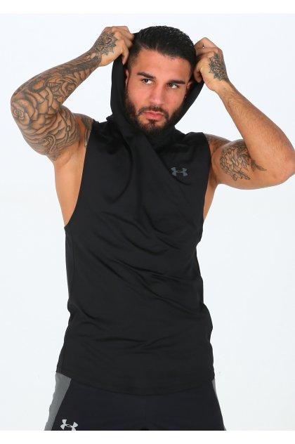 Under Armour camiseta sin mangas MK1 Hoodie