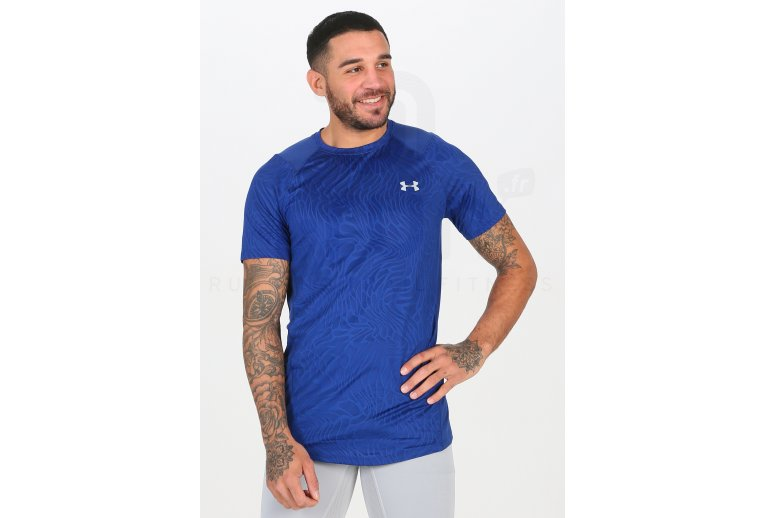 Temporada No quiero empujar  Under Armour camiseta manga corta MK1 Jacquard en promoción | Hombre Ropa  Carrera Under Armour