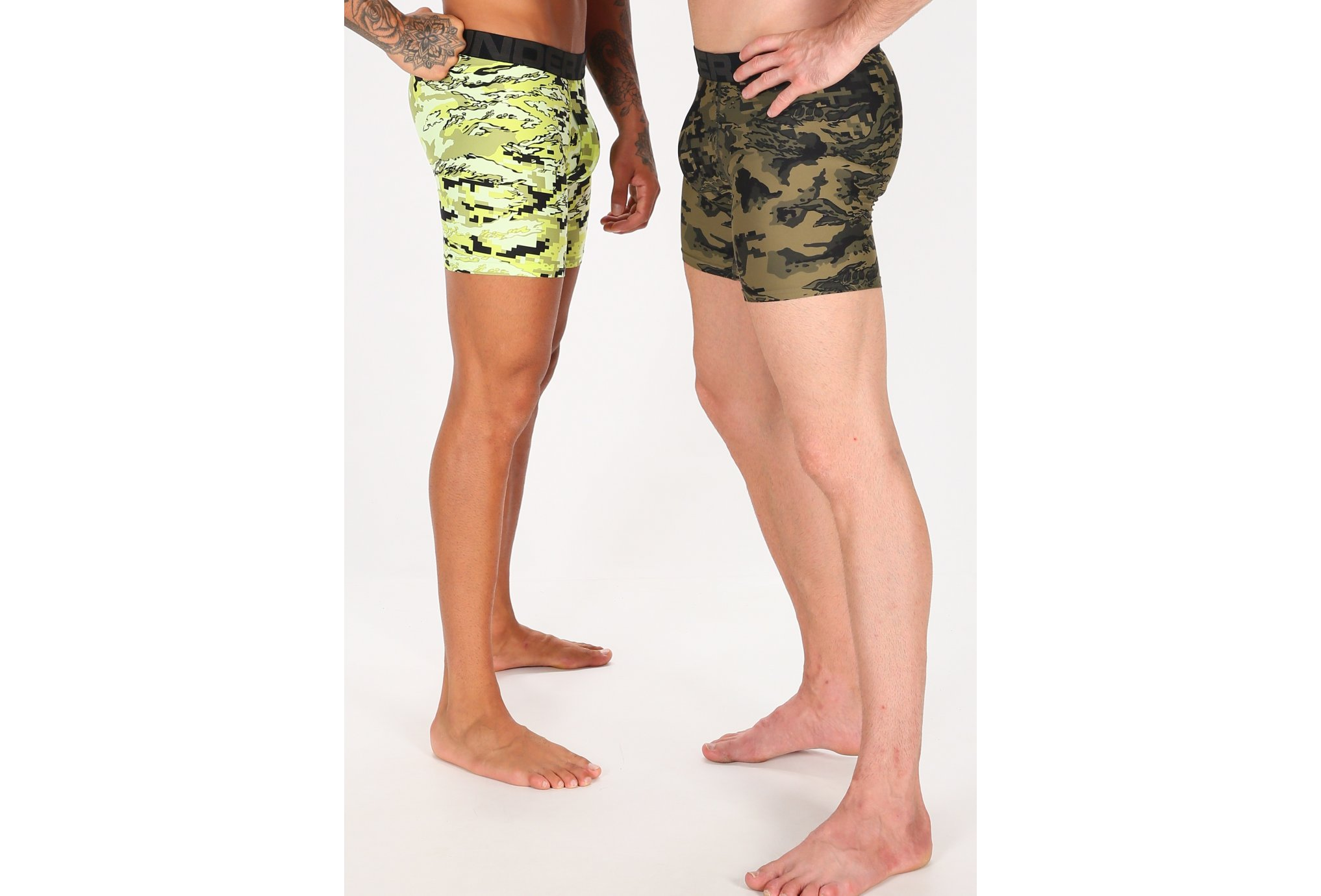 Under Armour Pack 2 boxers Tech Novelty Boxerjock M vêtement running homme