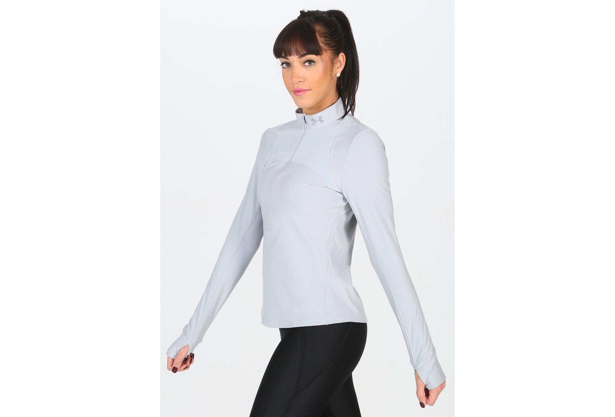 Under Armour Qualifer 1/2 Zip W vêtement running femme