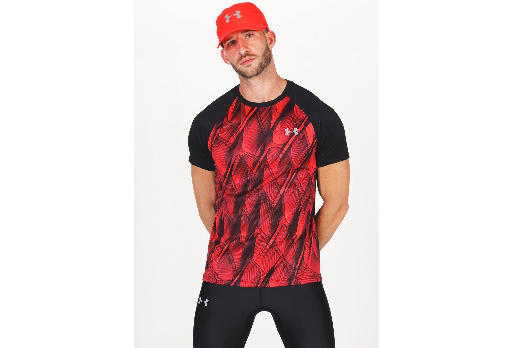 Under Armour Qualifier Iso-Chill Printed Run M Diététique Vêtements homme