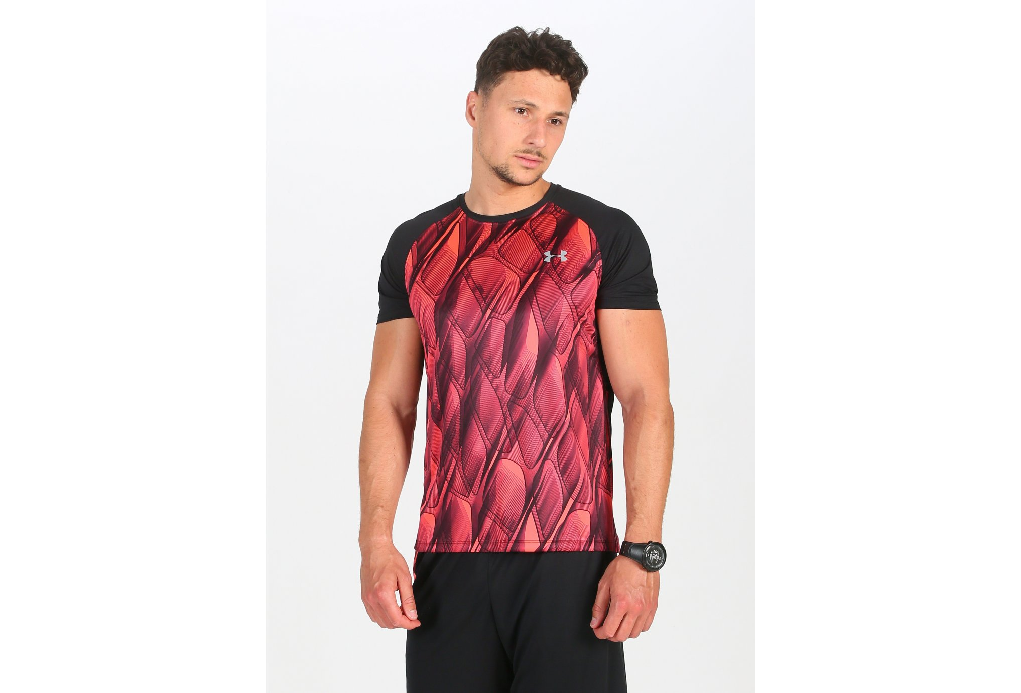 Under Armour Qualifier Iso-Chill Printed Run M vêtement running homme