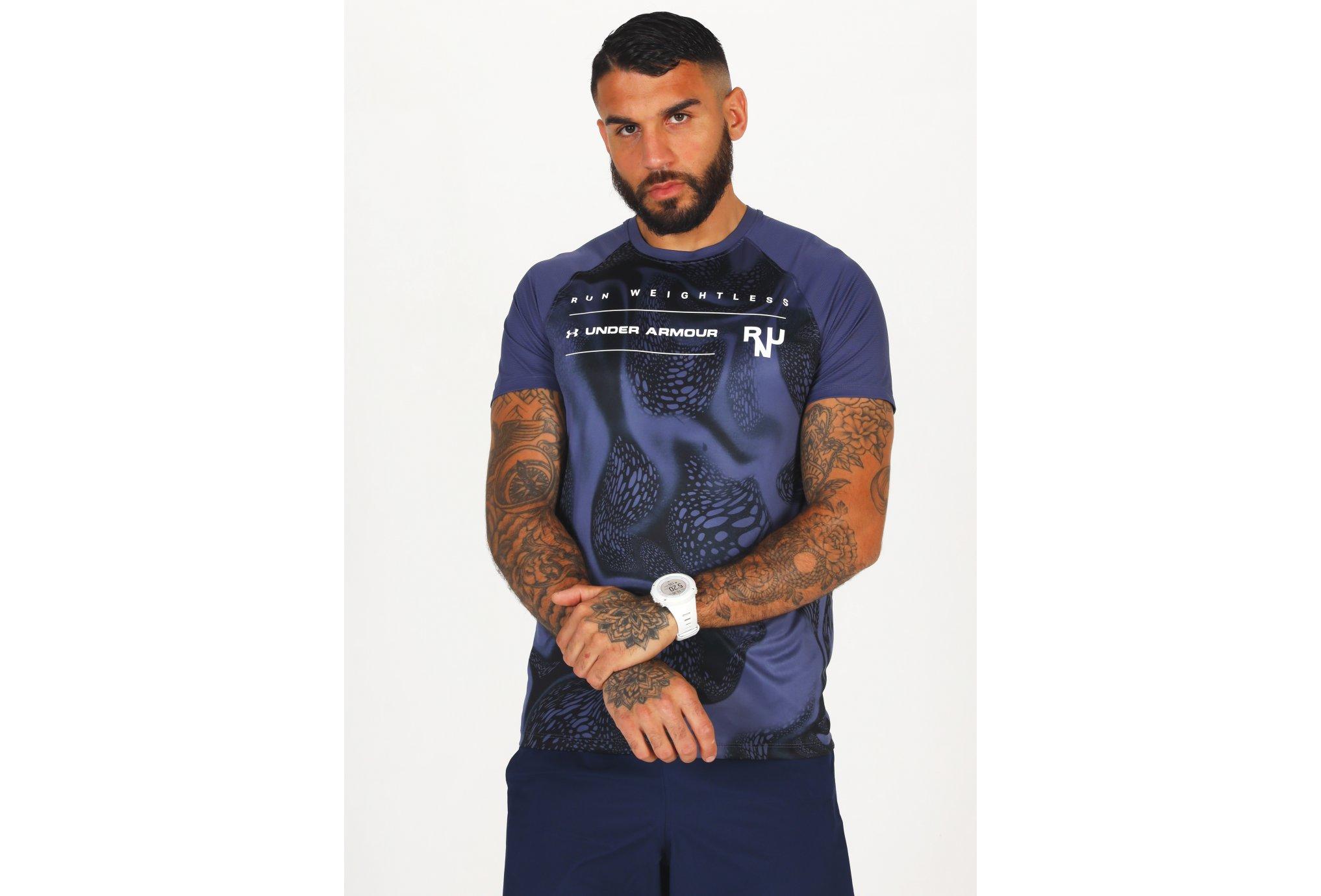Under Armour Qualifier Iso-Chill Run Weightless M Diététique Vêtements homme