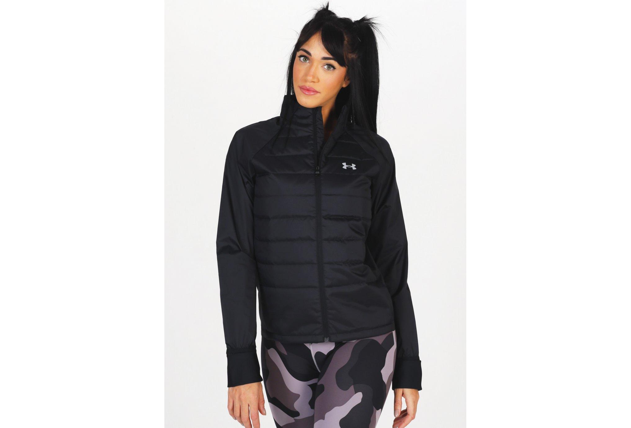 Under Armour Run Insulate Hybrid W Diététique Vêtements femme