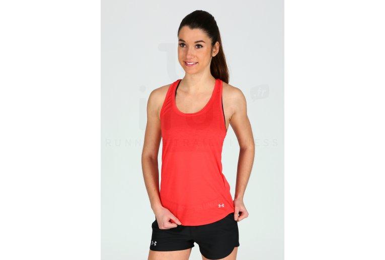 Gran cantidad Árbol Ashley Furman  Under Armour Camiseta de tirantes Streaker Run en promoción   Mujer Ropa  Camisetas de tirantes Under Armour