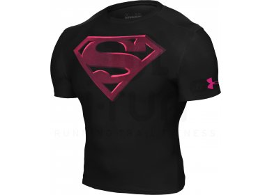 8d3cf971 Under Armour Tee-shirt Compression Alter Ego Superman M homme Noir ...
