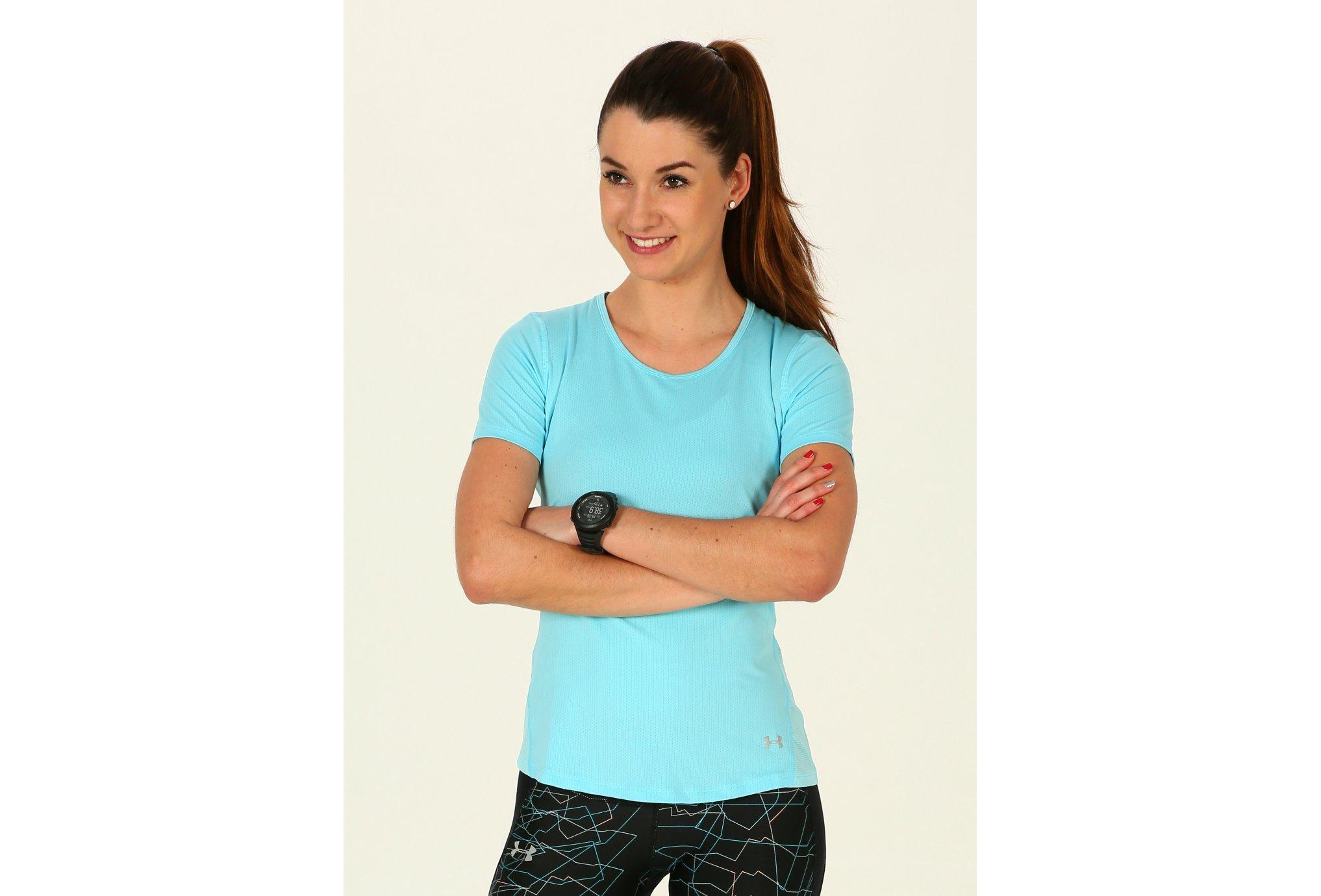 Under Armour Tee-shirt HeatGear CoolSwitch W vêtement running femme