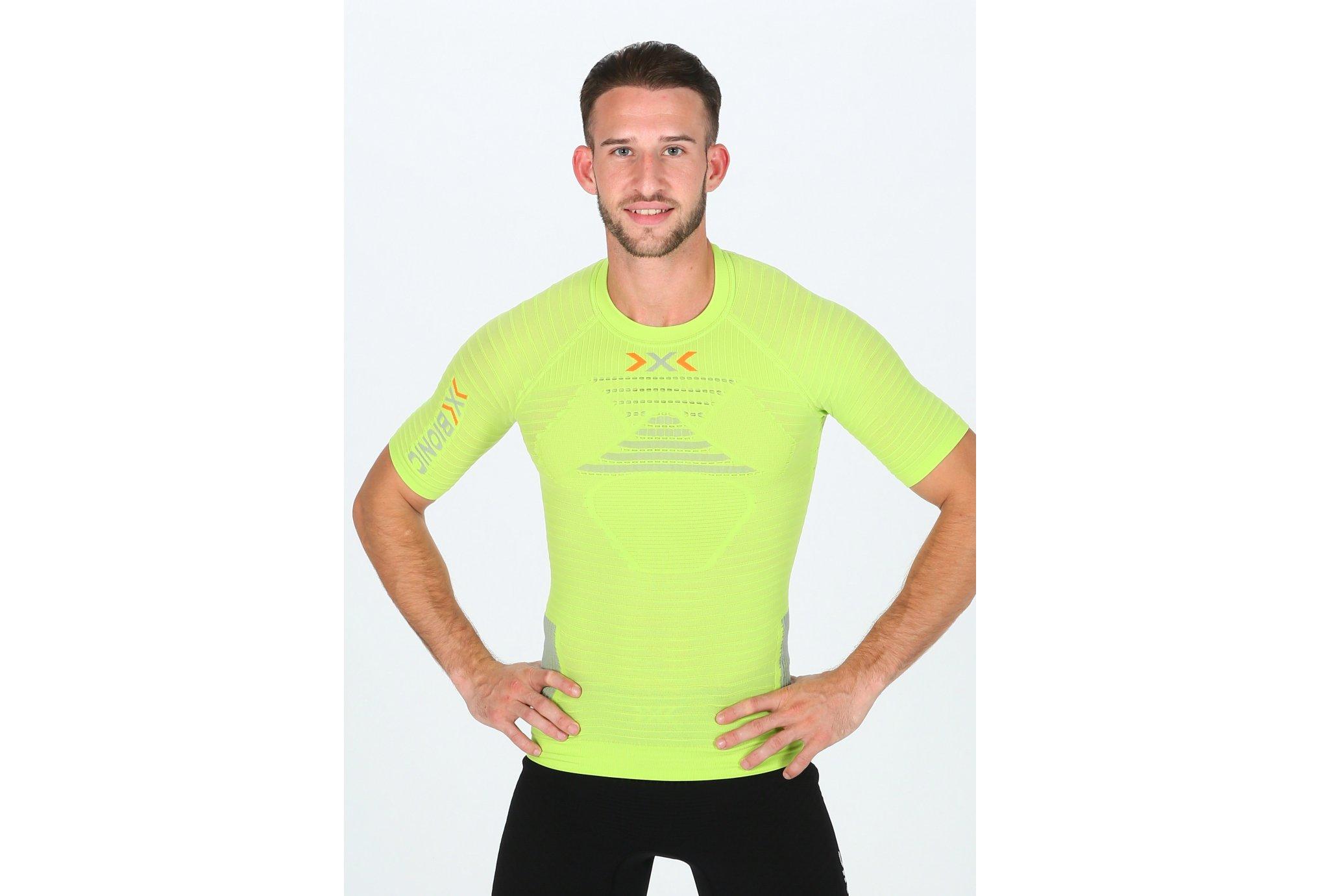 X-Bionic Effektor S/S M Diététique Vêtements homme