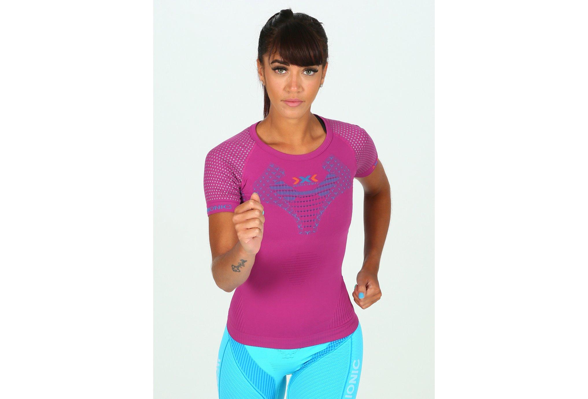 X-Bionic Tee-shirt Twyce Run W vêtement running femme