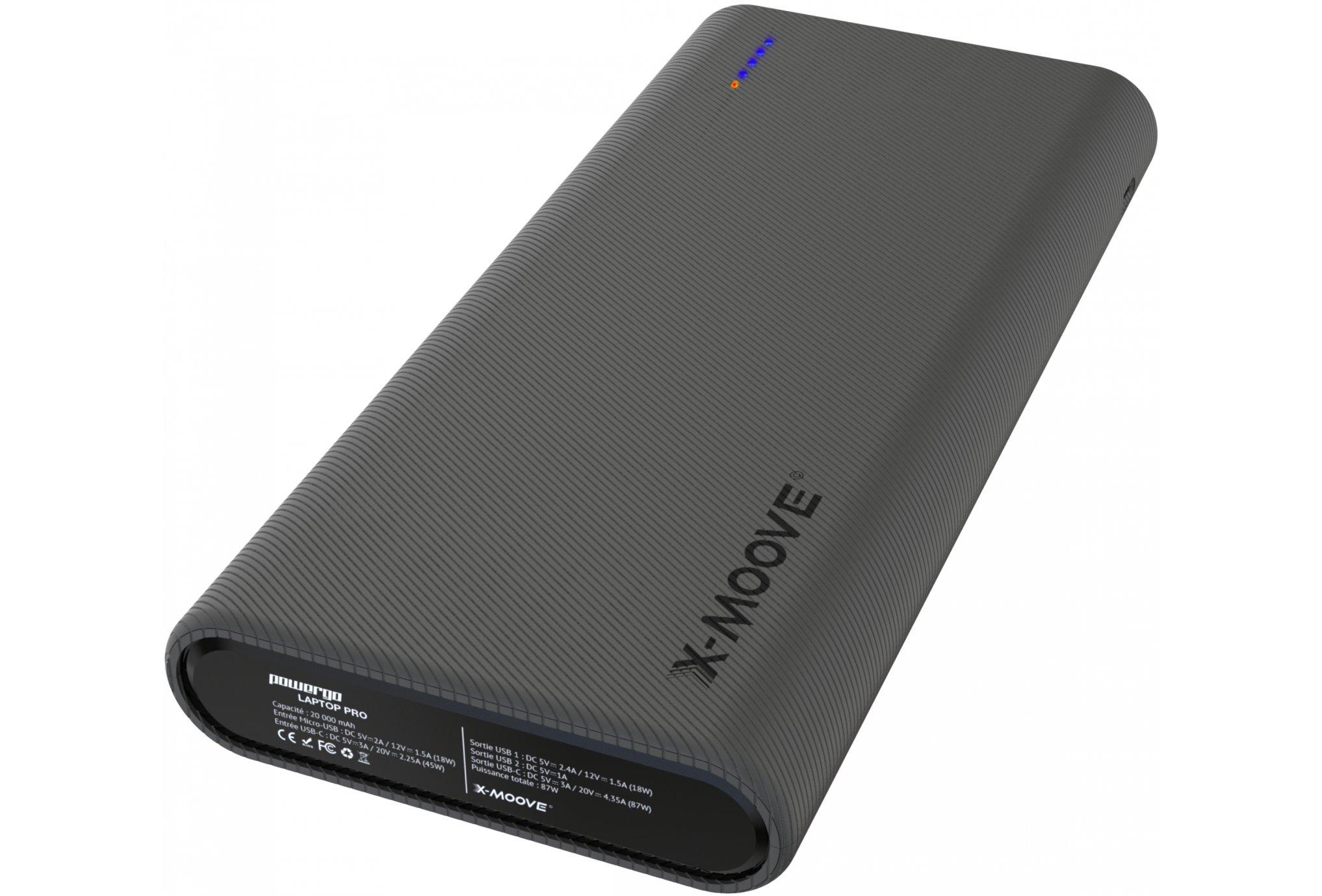 X-Moove Powergo Laptop Pro Batterie externe