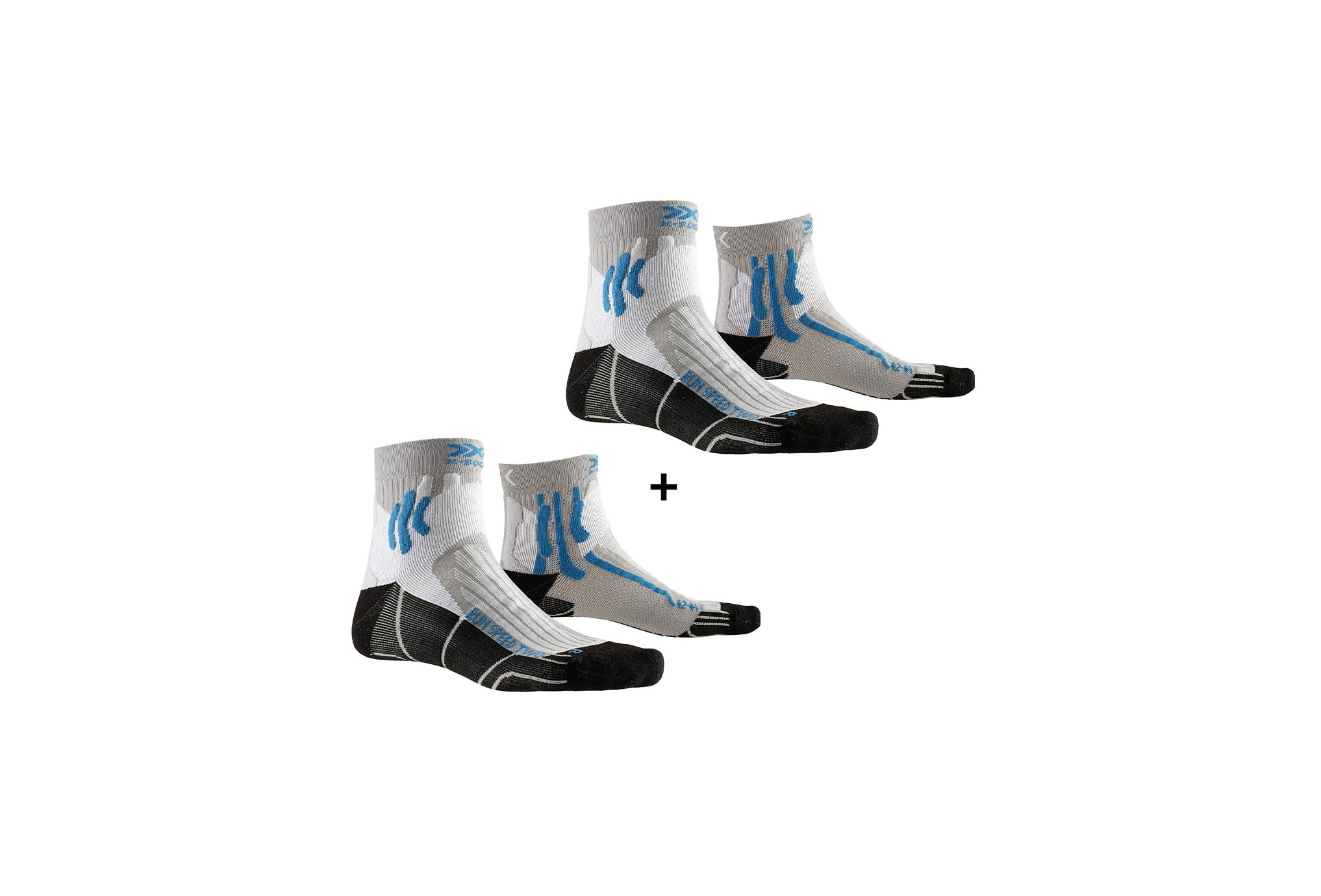 X-Socks Pack Run Speed Two M Chaussettes