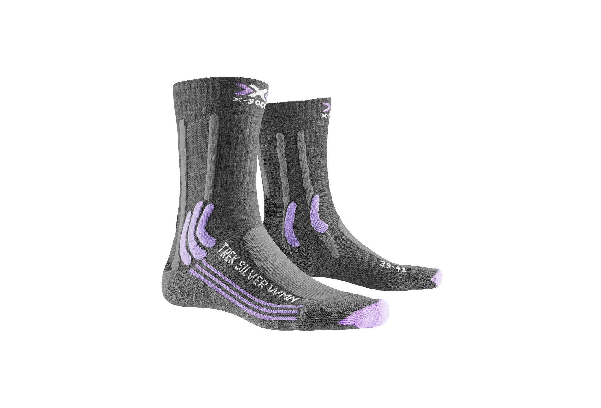 X-Socks Trek Silver W Chaussettes